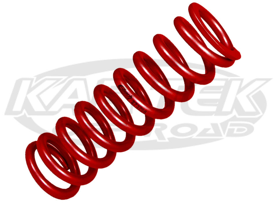 "Red Eibach 2500 Pound 4"" Tall Spring 2-1/4"" Inside Diameter For Coil Over Shocks"