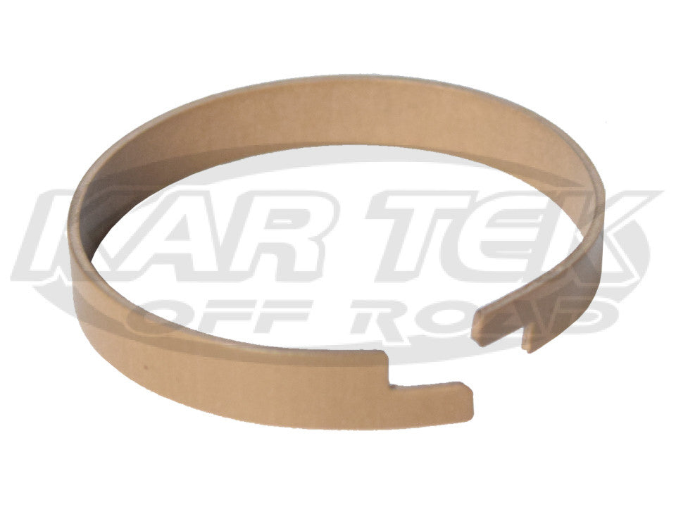 "Fox 2.5"" Shock 5/16"" Tall Soft Brown Turcite Wear Band For The Shock Reservoir Piston"