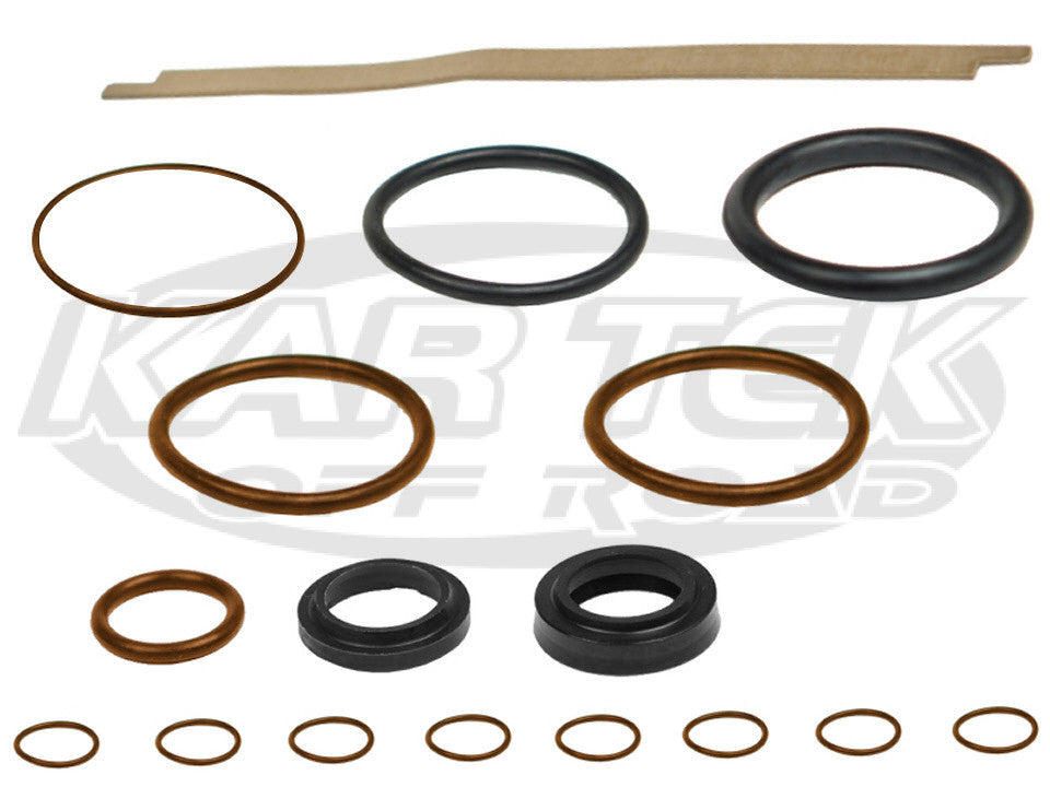 "Fox 2.0"" Four Tube Bypass Shock Viton O-Ring Rebuild Kits For 7/8"" Shaft With Piggyback Reservoir"