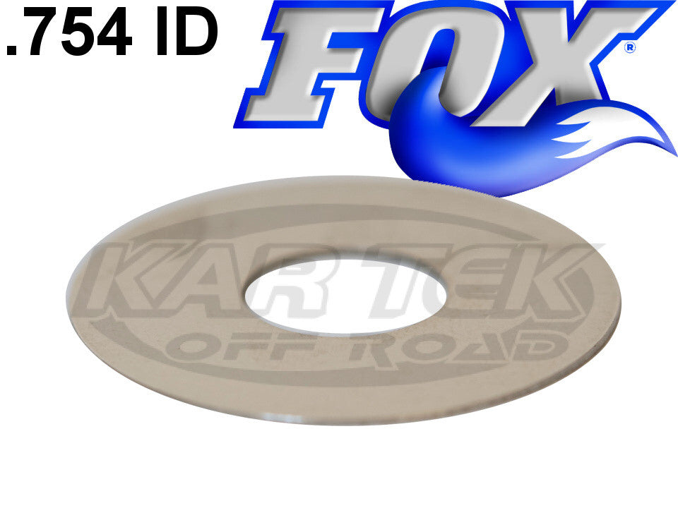 "Fox Shocks Rebound Or Compression Valving Shims 0.020"" Thick 2.400"" Outside Diameter 0.754"" ID"