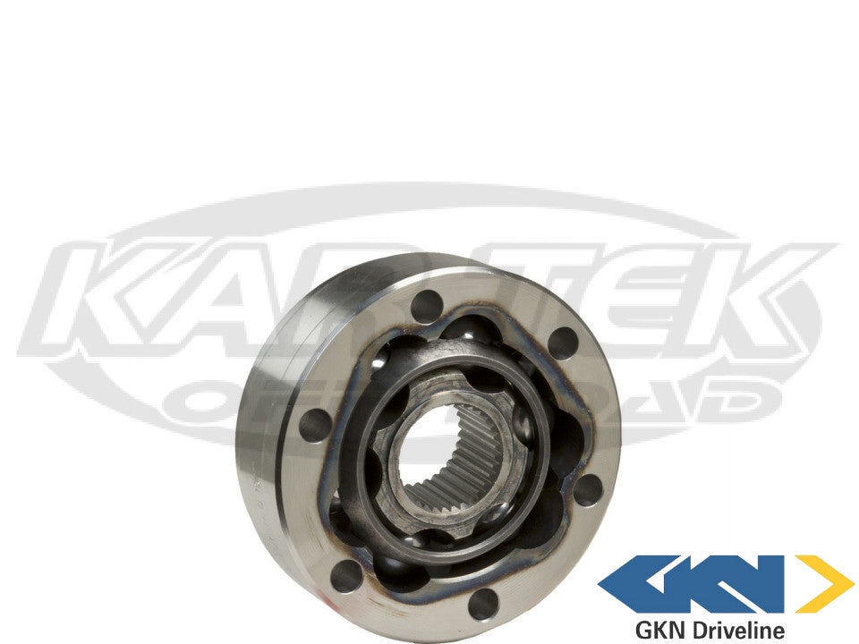 GKN Stock German Type 1 VW Beetle CV Joint For 33 Spline Axles With Stock CV Cage Fits 1969 To 1979