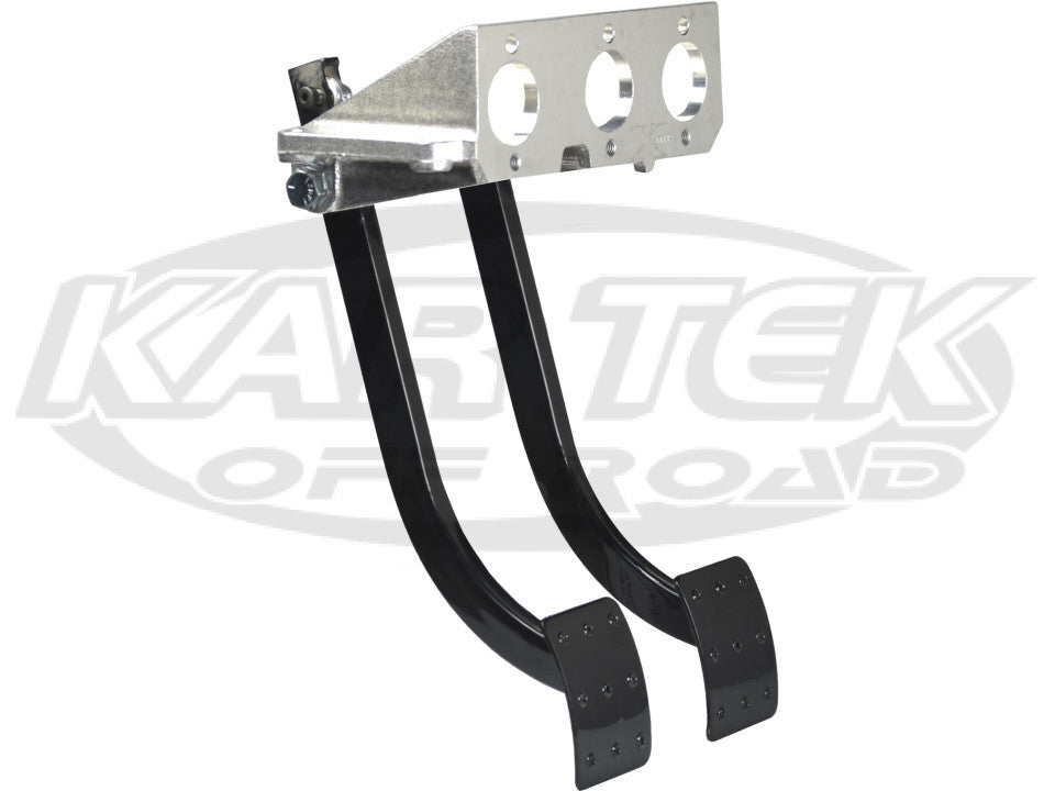 "Jamar Performance Economy 13"" Reverse Swinging Dual Brake And Clutch Master Cylinder Pedal Assembly"