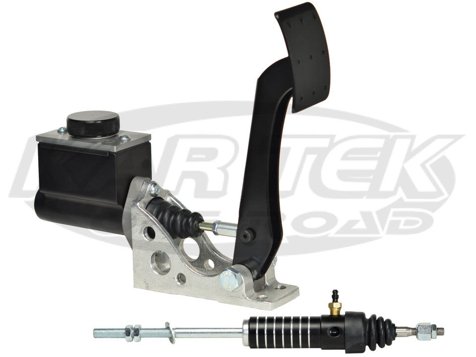 Jamar Performance Floor Mount Clutch Pedal Assembly With Short Master Cylinder And Slave Cylinder