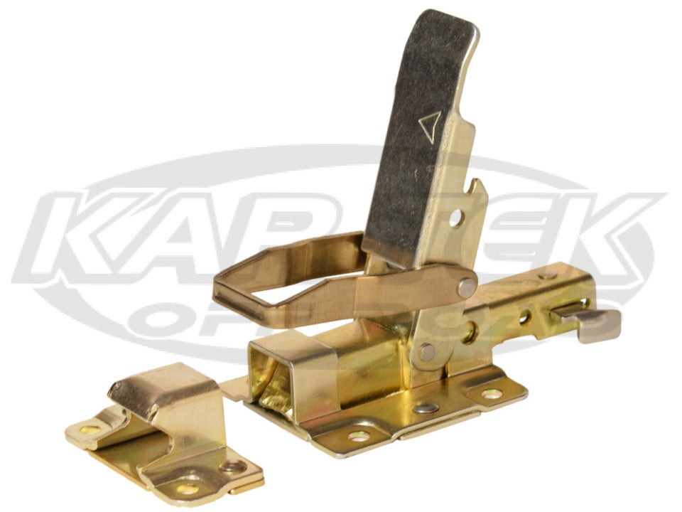 Lever Latch With Safety Catch Multidirectional Load Rated Ideal For Fiberglass Truck Or Baja Hoods