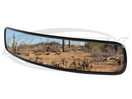 "Off-Road 17"" Long Convex Wide Angle Center Rear View Mirror Provides A Panoramic View"