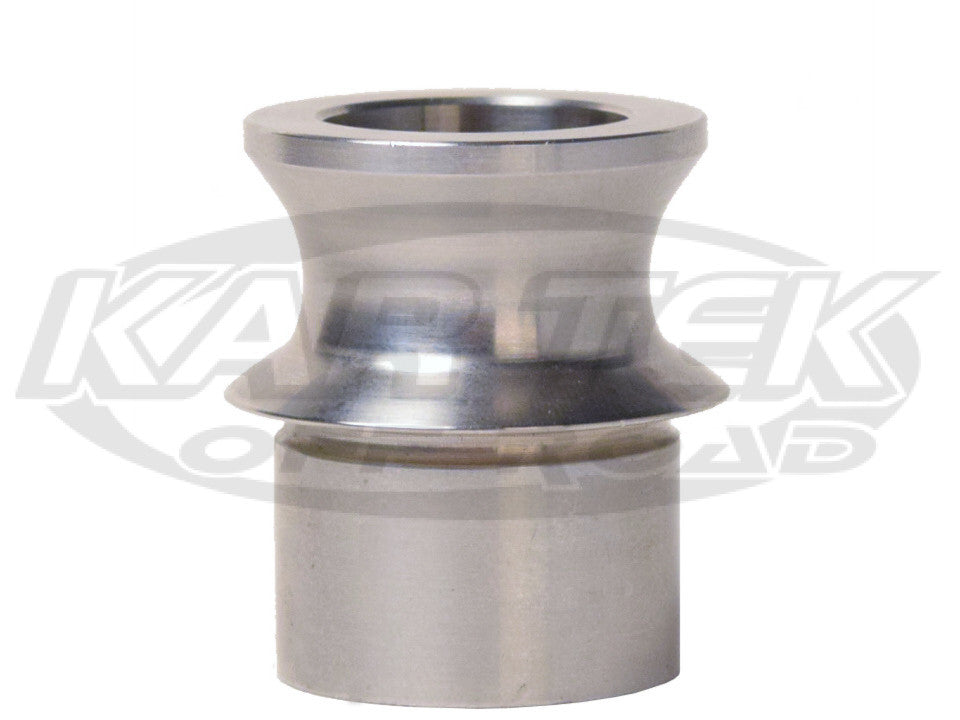 "17-4 Stainless Steel Hourglass Misalignment Spacer For 1"" Heim Or Uniball For 3/4"" Bolt 2-3/4"" Stack"