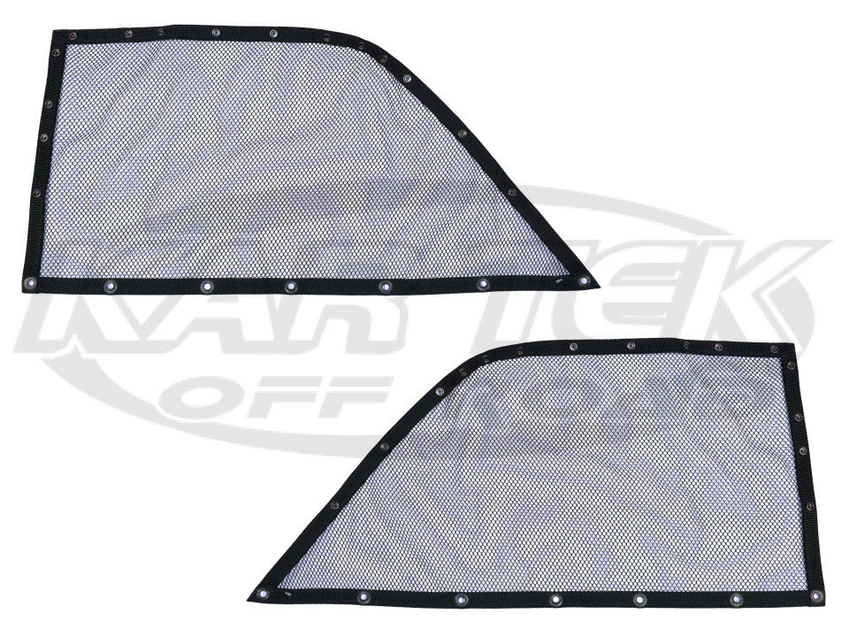 1965 To 1977 VW Beetle Baja Bug Mesh Style Snap-On Window Nets For Driver And Passenger Doors