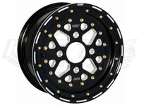 DWT UTV Sector 3-Piece Beadlock Wheels 14x8, +4 Offset, 4/156 Pattern