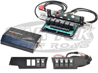 sPOD Polaris RZR XP1000 2 Seat System Includes 6 Green LED Contura Rocker Switches Relays And Fuses