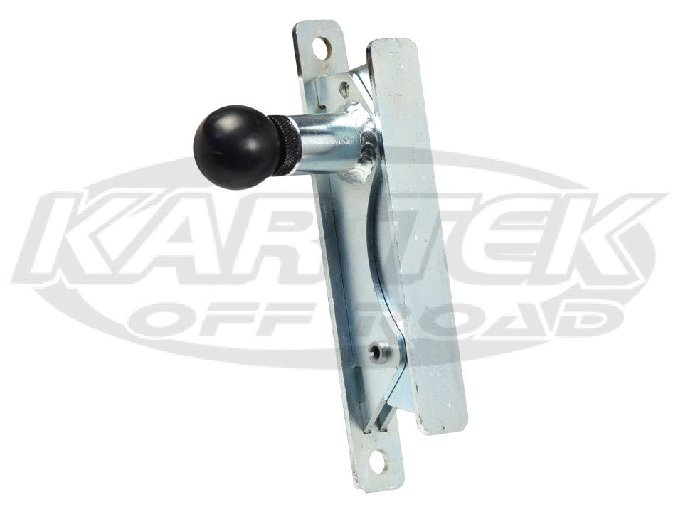 Kartek Off-Road Left Hand Spring Loaded Pull Knob Fire Extinguisher Quick Release Mounting Bracket