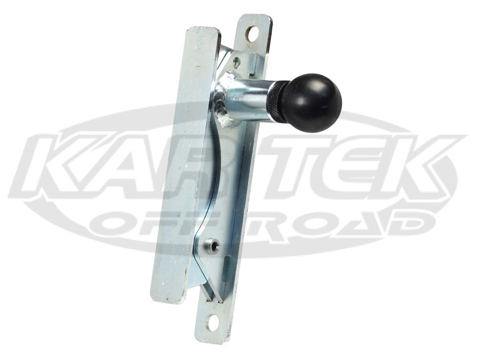 Kartek Off-Road Right Hand Spring Loaded Pull Knob Fire Extinguisher Quick Release Mounting Bracket