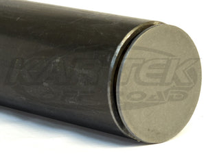 Weld On Flat Steel Tube End Caps For 1-3/4 Inch Outside Diameter Tubing - Sold As A Pair