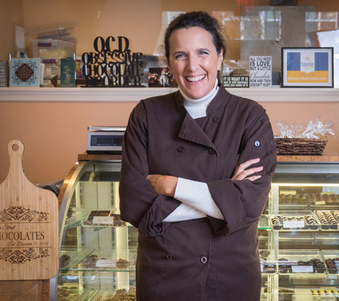 Gail Warner, Owner of Bridge Street Chocolates