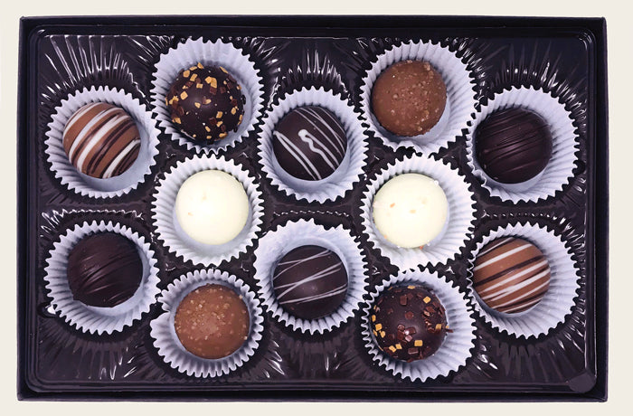 12 Piece Truffle Box