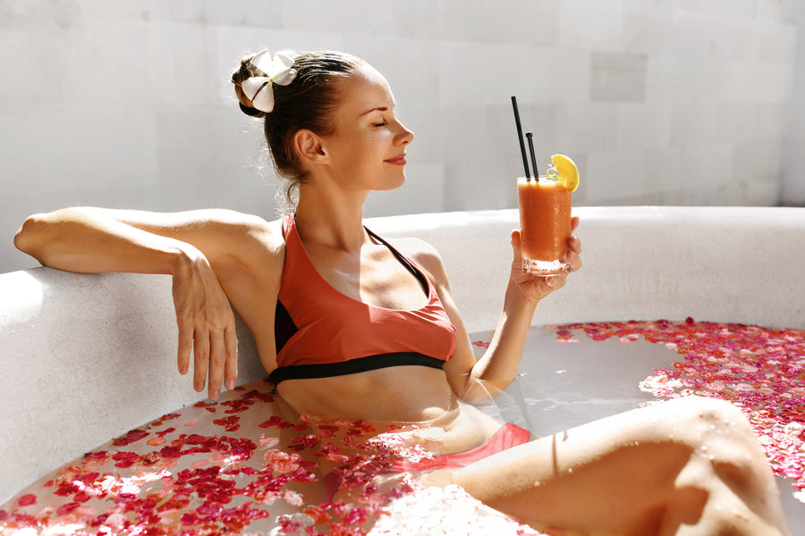 4 Ways To Make Your Bath Time Relaxing And Healthy