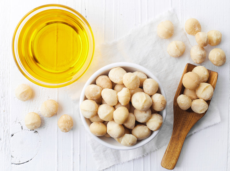 Healthy Skin And Hair With Macadamia Oil