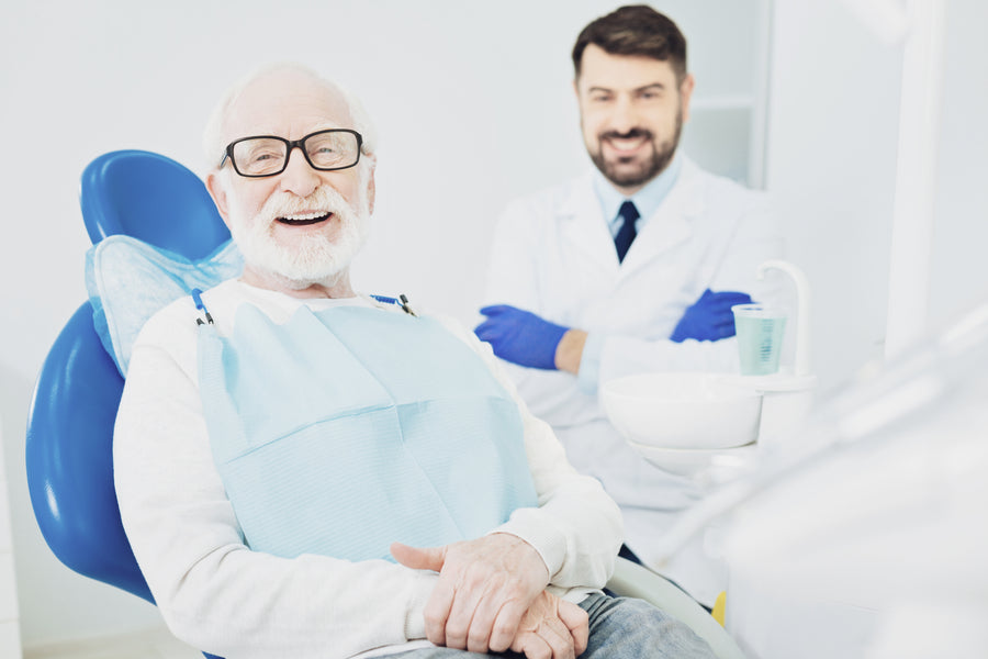 Senior Oral Health: Perception Influences Seeking Treatment