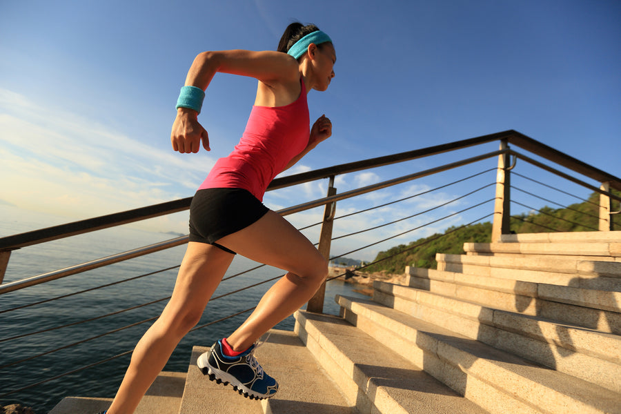 Get Those Steps In: Climbing Stairs Is A Practical Fitness Boost