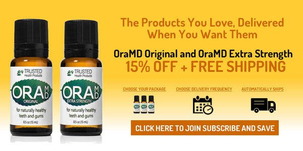 OraMD Subscribe and Save - 15% Off plus Free Shipping