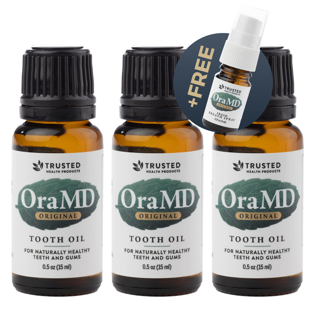 OraMD Original Strength - Buy 2 Get 1 Free  + 1 Free Breath Spray