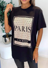Paris Oversize Fit T Shirt