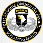 Army Fabric, 101st Airborne Division Air Assault, cotton or fleece 3011