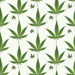 Cannabis Fabric, Marijuana Fabric, Leaf, Cotton or Fleece 1524 - Beautiful Quilt