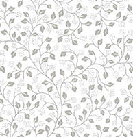 Neutral Fabric, Illusions, Blender flower white fabric 3492 - Beautiful Quilt