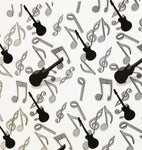Music Fabric, Notes and Guitar Fabric 5400