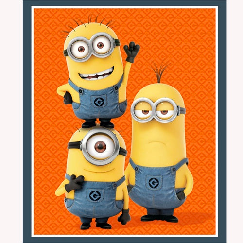 Minion Fabric QT 1 in a Minion Panel 4571