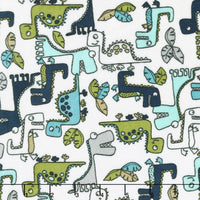 Cuddle Fabric, Shannon, Minky Printed, Dinosaurs 5881 - Beautiful Quilt