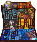 Religious Fabric, Stained Glass Panel Collection 1280 - Beautiful Quilt
