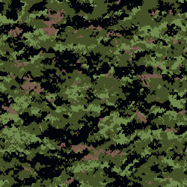 Military Fabric, Camouflage Digital Fabric Green, Cotton or Fleece 5704 - Beautiful Quilt