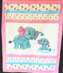 Children's Fabric, Elephant Quilt Kit 5866 - Beautiful Quilt