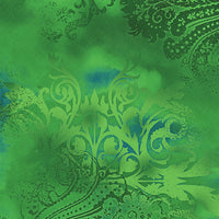 Blender Fabric Benartex Dreamscape Jade Green 5142 - Beautiful Quilt