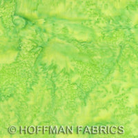 Batik Fabric, Bali, French Lime Green 5572 - Beautiful Quilt