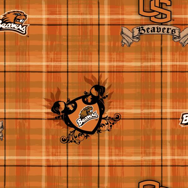 Oregon State University Fabric by Print Concepts 3038