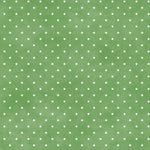 Polka Dot Fabric Maywood Basics Green 5456