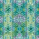 Blender Fabric QT Kaleidoscope Geometric Green 4960 - Beautiful Quilt