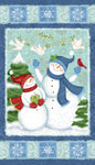 Christmas Fabric, Winter Joy, Snowman Panel 5846