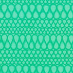 Abstract Fabric RK Drawn Free Motion Humps Green 4519 - Beautiful Quilt