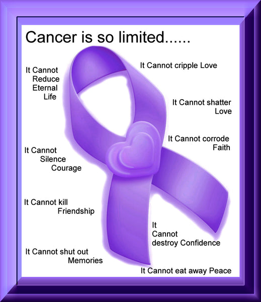 Cancer Fabric, Pancreatic Cancer Fabric, Custom Print Panel, Poem 5638 - Beautiful Quilt