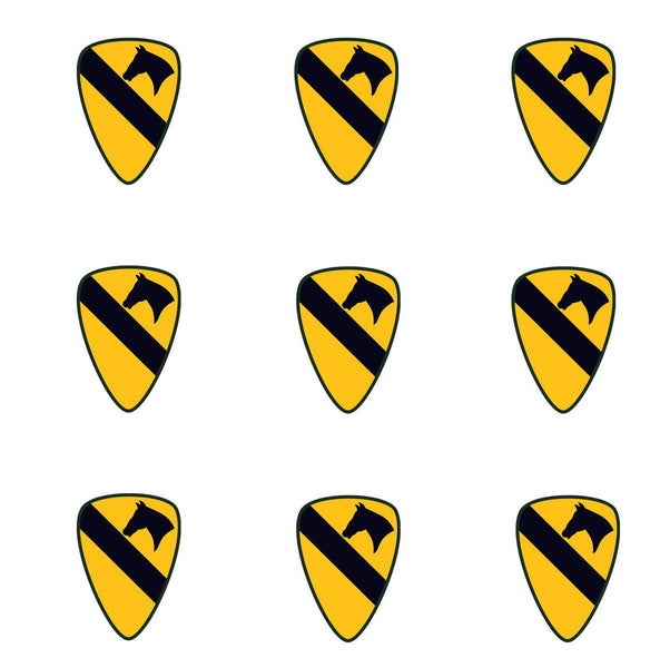 Military Fabric Army Fabric Vietnam 1st Cavalry 5855