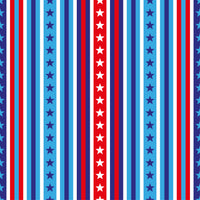 Patriotic Fabric, Red White and Blue Stripes with Stars,  Cotton or Fleece 2130 - Beautiful Quilt