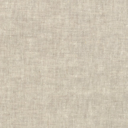 Solid Fabric, Essex Yarn Dyed, Flax Tan 5275 - Beautiful Quilt