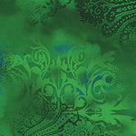 Blender Fabric Benartex Dreamscape Emerald Green 5143 - Beautiful Quilt