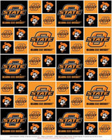 Sports Fabric, College Team Sports, Oregon State University Fabric 3039 - Beautiful Quilt