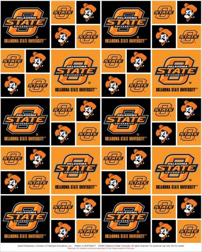 Oregon State University Fabric by Print Concepts 3039