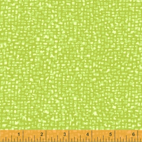 Blender Fabric, Bedrock, Lime Green 7012 - Beautiful Quilt