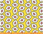 1930 Reproduction Fabric, Playdate, Geometric Yellow 7098 - Beautiful Quilt